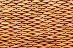 Πράσινο κεραμίδι στεγών Στοκ Φωτογραφία