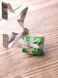 Πράσινο κιβώτιο δώρων Στοκ Εικόνα