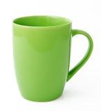 Πράσινο κούπα ή φλυτζάνι τσαγιού   Στοκ φωτογραφία με δικαίωμα ελεύθερης χρήσης