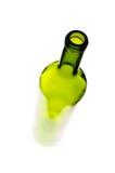 πράσινο κρασί μπουκαλιών Στοκ εικόνα με δικαίωμα ελεύθερης χρήσης