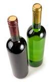 πράσινο κρασί μπουκαλιών Στοκ εικόνες με δικαίωμα ελεύθερης χρήσης