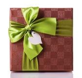 Πράσινο κόκκινο κιβωτίων δώρων Στοκ Εικόνες