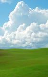 πράσινο κύλισμα λόφων Στοκ εικόνα με δικαίωμα ελεύθερης χρήσης