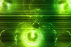 πράσινο κύμα πληροφοριών ε&p διανυσματική απεικόνιση