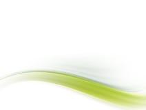πράσινο κύμα διανυσματική απεικόνιση