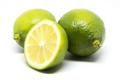 πράσινο λεμόνι στοκ φωτογραφία