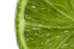 πράσινο λεμόνι laim Στοκ Εικόνες
