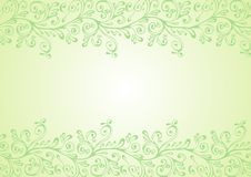 πράσινο λευκό διακοσμήσ&ep στοκ φωτογραφίες με δικαίωμα ελεύθερης χρήσης