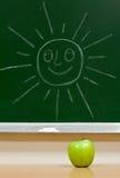 πράσινο μήλου ήλιος στοκ φωτογραφία με δικαίωμα ελεύθερης χρήσης