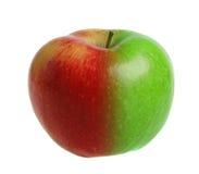 πράσινο μήλου κόκκινο Στοκ Φωτογραφία