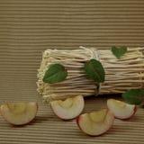 πράσινο μήλου πίνακας Στοκ Εικόνες