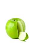 πράσινο μήλου που απομονώ στοκ φωτογραφίες με δικαίωμα ελεύθερης χρήσης