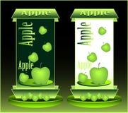 πράσινο μήλου Στοκ Εικόνες