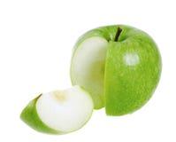 Πράσινο μήλο Στοκ Φωτογραφίες