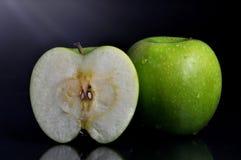 Πράσινο μήλο Στοκ Εικόνα
