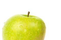 πράσινο μήλου λευκό Στοκ Φωτογραφία