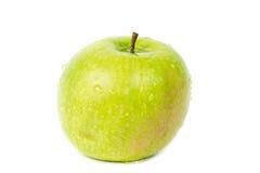 πράσινο μήλου λευκό Στοκ εικόνες με δικαίωμα ελεύθερης χρήσης