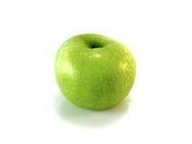 πράσινο μήλου που απομονώνεται Στοκ εικόνα με δικαίωμα ελεύθερης χρήσης