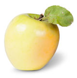 πράσινο μήλου φύλλο κίτριν& Στοκ Φωτογραφία