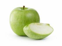 πράσινο μήλου ώριμος Στοκ φωτογραφίες με δικαίωμα ελεύθερης χρήσης