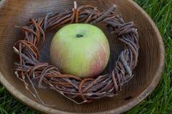 πράσινο μήλου juicy Στοκ εικόνες με δικαίωμα ελεύθερης χρήσης