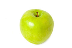 πράσινο μήλου juicy Στοκ φωτογραφία με δικαίωμα ελεύθερης χρήσης