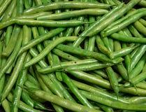 Πράσινο μαγείρεμα φασολιών Στοκ εικόνες με δικαίωμα ελεύθερης χρήσης