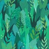 Πράσινο μαγικό δάσος Στοκ Εικόνες