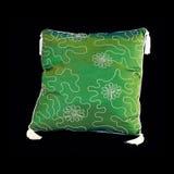 πράσινο μαξιλάρι προτύπων Στοκ Φωτογραφία