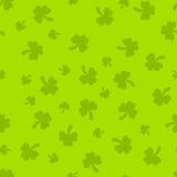 Πράσινο μαλακό άνευ ραφής σχέδιο ημέρας του ST Πάτρικ Στοκ εικόνα με δικαίωμα ελεύθερης χρήσης