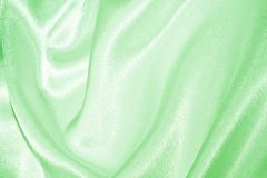 Πράσινο μετάξι Στοκ φωτογραφία με δικαίωμα ελεύθερης χρήσης