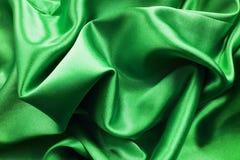 Πράσινο μετάξι Στοκ φωτογραφίες με δικαίωμα ελεύθερης χρήσης