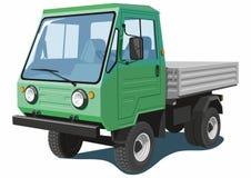 Πράσινο μικρό φορτηγό Στοκ φωτογραφία με δικαίωμα ελεύθερης χρήσης