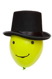 Μπαλόνι σε ένα καπέλο Στοκ Εικόνα