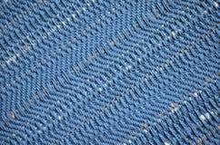 Πράσινο μπλε κατασκευασμένο χρωματισμένο κλωστοϋφαντουργικό προϊόν υποβάθρου χρωμάτων Στοκ Εικόνα