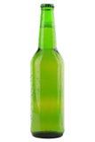 Πράσινο μπουκάλι μπύρας Στοκ φωτογραφία με δικαίωμα ελεύθερης χρήσης
