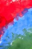 Πράσινο μπλε και κόκκινο υπόβαθρο Στοκ φωτογραφία με δικαίωμα ελεύθερης χρήσης