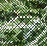 Πράσινο μωσαϊκό Στοκ Φωτογραφία