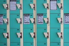 πράσινο ντουλάπι Στοκ φωτογραφία με δικαίωμα ελεύθερης χρήσης