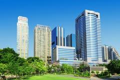 Πράσινο πάρκο πόλεων στοκ εικόνα