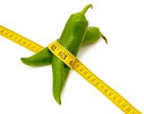 πράσινο πιπέρι σιτηρεσίου Στοκ Φωτογραφίες