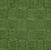πράσινο πλεκτό μαλλί προτύπ Στοκ εικόνα με δικαίωμα ελεύθερης χρήσης