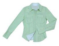 Πράσινο πουκάμισο στοκ φωτογραφίες με δικαίωμα ελεύθερης χρήσης