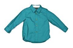 πράσινο πουκάμισο Στοκ Εικόνες