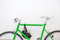 Πράσινο ποδήλατο Στοκ Φωτογραφία