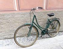 Πράσινο ποδήλατο Στοκ εικόνες με δικαίωμα ελεύθερης χρήσης