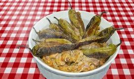 Πράσινο πρόβειο κρέας τσίλι Gosht Mirch Στοκ φωτογραφία με δικαίωμα ελεύθερης χρήσης
