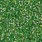 πράσινο πρότυπο άνευ ραφής Απεικόνιση αποθεμάτων