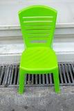 πράσινο πλαστικό εδρών Στοκ εικόνες με δικαίωμα ελεύθερης χρήσης