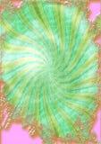 πράσινο ροζ ανασκόπησης απεικόνιση αποθεμάτων